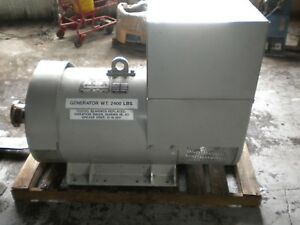 Kato 100 Kw Generator End From Nuclear Power Plant Stand by Excellent Condition