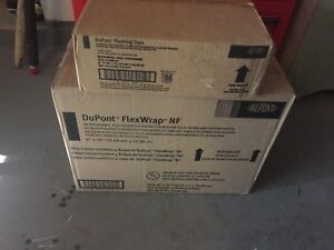 Dupont 4x 4 X 75 Flashing Tape And 4x 6 X 75 Flexwrap Nf Case Deal