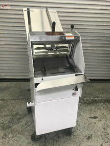 1 2 Gravity Feed Bread Slicer Berkel Gmb1 2 8611 Commercial Slicing Machine