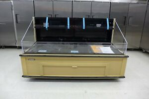 New Hussmann Q3 ss 6s 77 Self Contained Meat Deli Produce Refrigerator Cooler