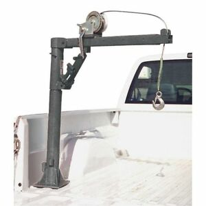 Haul Master 1 2 Ton Capacity Pickup Truck Crane With Cable Winch