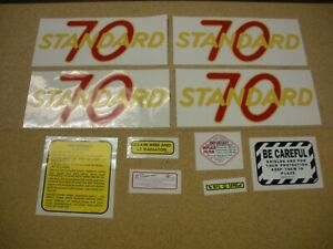 Oliver 70 Standard Tractor Decal Set