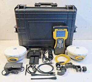Pair Trimble 5800 450 470mhz Tsc2 Survey Controller Complete Rtk Package