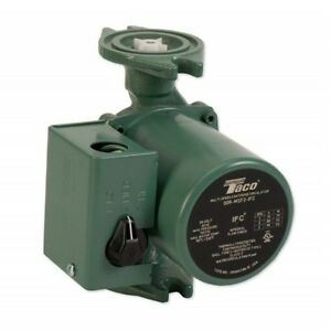 Taco 0015 msf3 1 Ifc 00 Series 3 speed Cartridge Circulator Pump Cast Iron
