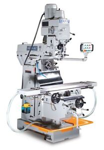 New Sharp Vh 3 Heavy Duty Vertical Horizontal Combo Milling Machine 1312