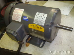 Baldor 1hp Tefc 3 Phase 56 Fr 1750 Rpm Electric Motor