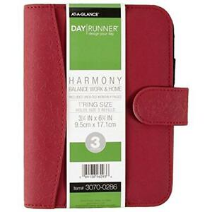 Planners Harmony Organizer Holds Refills 3 3 4 X 6 3 4 Inches Assorted Colors