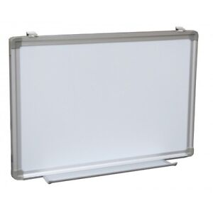 Dry Erase White Board Sign Tray Menu Magnetic Framed 48 X 72 Aluminum Whiteboard