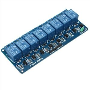 10pcs 8 Channel Dc 5v Relay Module For Arduino Raspberry Pi Dsp Avr Pic Arm