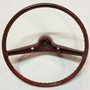 1962 Chevy Impala Steering Wheel Original Vintage Stock