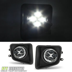 For 2014 2015 2016 2017 Toyota Tundra 4 Led Fog Lights Bumper Driving W Switch