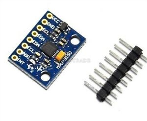 2pcs Mpu 9150 9dof 3 Axis Gyroscope accelerometer magnetic Field Replace Y