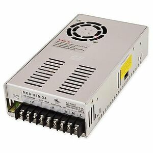 Power Supplies 24 Volt Single Output Ul Constant Voltage Switching Supply 350