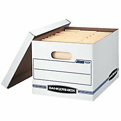 Bankers Box Stor file Storage Box With Lift off Lid Letter legal 12 X 10 X 15