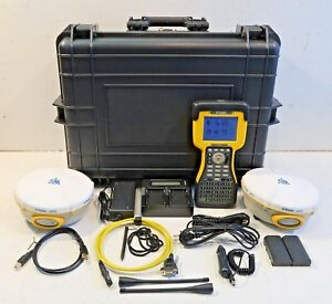 Pair Trimble 5800 430 450mhz Tsc2 Survey Controller Complete Rtk Package