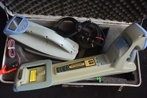 Radiodetection Locater Set Model Rd4000mrx With Rd4000t10 Transmitter Rd4000