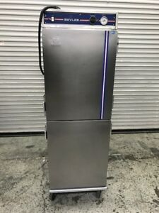 Heated Pass Thru Warming Cabinet Mobile Transport Bevles Usa Hot Box 8622