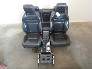 Jaguar Xf Front Rear Seat Set Black Leather Heated Cooled Power 13 14 15