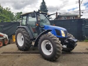 New Holland Tl100a 4x4 Tractor Erops Low Hours In Nyc
