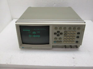 Agilent Hp 1631a Logic Analyzer Powered On Only