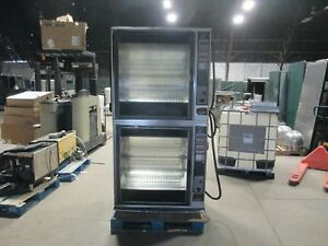 Henny Penny Scr 8 Double Rotisserie Oven Electric Baskets Grocery Commercial