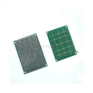 50pcs 5x7 Cm Single sided Prototype Pcb Tinned Universal Bread Board 5 X 7 Fr4 W