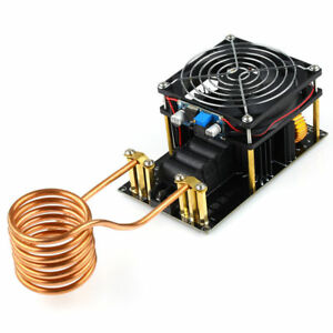 High Quality 1000w 20a Zvs Induction Heating Board Module Heater Dc12 36v Tube
