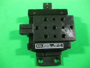 Newport Nrc 2 Axis Positioner Model 460 xy Used