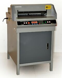 450mm Paper Guillotine Cutter Cutting Machine 17 7 Electric 2 year Warranty