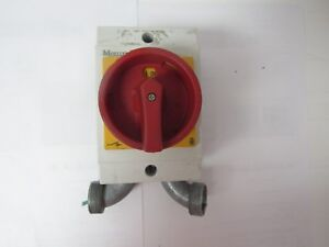Moeller To 2 1 Disconnect Switch