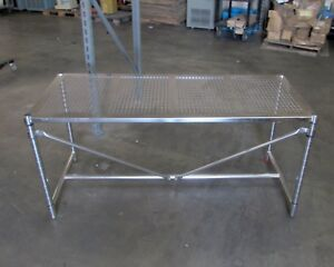 Metro Perf Top Stainless Steel Work Clean Table 71 L X 29 W X 33 H