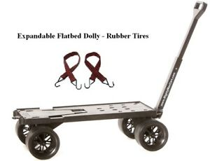 Moving And Warehouse Cart All purpose Furniture Dolly Rv Cart Flatbed Cart