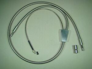 Fiber Optic Microscope Light Source Flex Cable With Split Point And Field 145cm