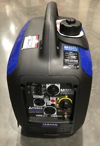 Yamaha 2000 Watt Gas Portable Inverter Sc2000i Inverter Generator New In Box
