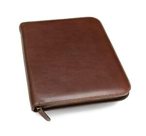 Maruse Leather Padfolio Executive Leather Writing Portfolio Document Holder