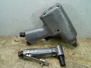 Pre owned Craftsman 875 188840 1 2 Impact Wrench 3 93088 Angle Grinder