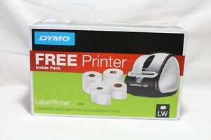 Dymo Labelwriter 450 Super Bundle Free Label Printer With 4 Rolls Of Labels