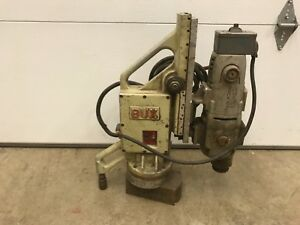 Rockwell Model Ct 1753 Mag Magnetic Drill Press Bux Dh 3 4 Rp Magnet Base