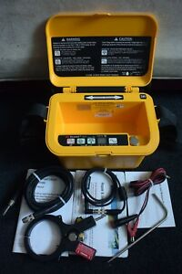 Dynatel Transmitter Model 2573c With Inductive Clamp No Locator Wand