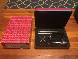 Starrett Dial Test Indicator Set W box 196a1z With Original Case Box used