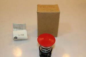 Westinghouse Pb1arf Red Pushbutton Switch Operator
