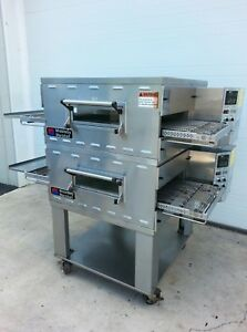 Middleby Marshall Ps536 Double Deck Conveyor Pizza Oven belt Width 20