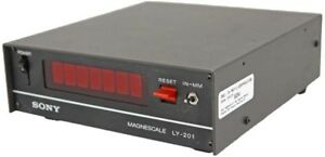 Sony Magnescale Ly 201 Industrial lab Benchtop Digital Readout Display 1