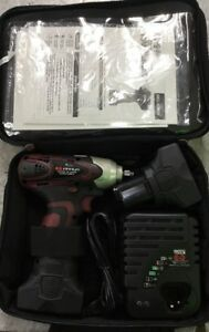 Matco Infinium Mcl1638iw 16v Impact Wrench w carry Bag 2 Batteries
