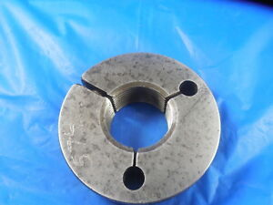 1 1 8 16 Thread Ring Gage 1 125 No Go Only P d 1 0764 Inspection Tooling