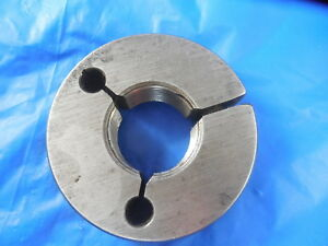 1 1 8 16 Thread Ring Gage 1 125 No Go Only P d 1 0784 Inspection Tooling