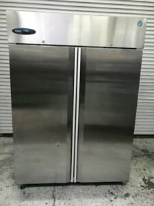 2 Door Reach In Refrigerator Cooler Stainless Steel Hoshizaki Cr2s fs Nsf 8633