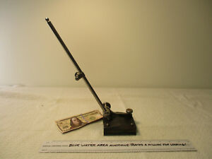 Starrett Surface Gage Model 56 257 W 12 Spindle Arm Indicator Holder Ln