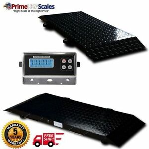 Multi Purpose Portable Floor Scale To Weigh Drum Vet Livestock 600 X 2 Lb