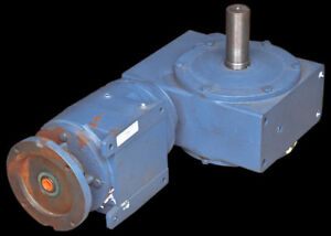 Hub City Spe 0222 00353 1524 Worm 569 5 1 Ratio Right Angle Gear Drive